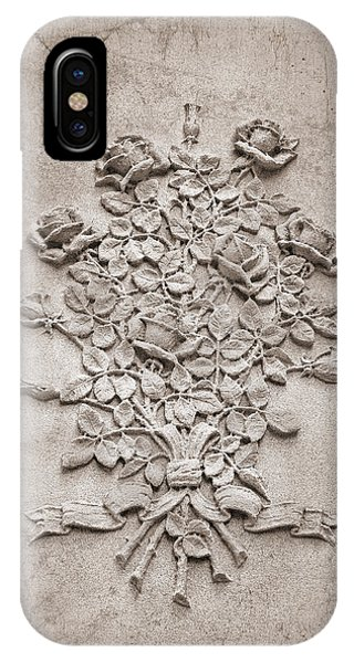 Cemetery iPhone Case - Eternal Rose by Tom Mc Nemar