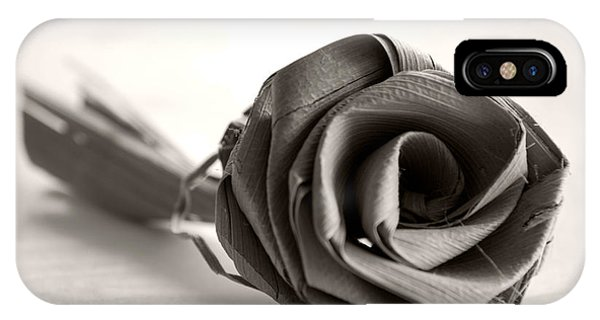 Eternal Rose In Sepia IPhone Case