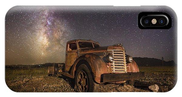 Astral iPhone Case - Eternal Rust  by Aaron J Groen