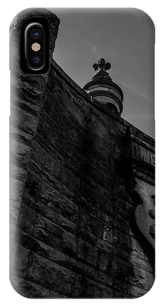 Eternal Stone Structure Bw IPhone Case