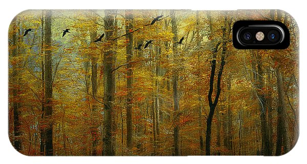 Ethereal Autumn IPhone Case