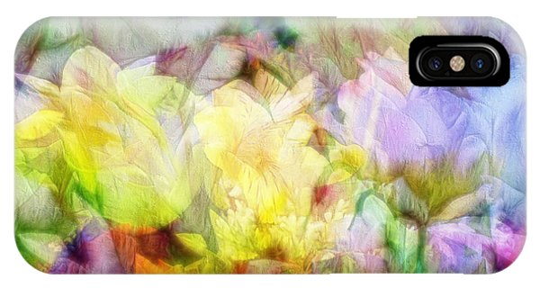 Ethereal Flowers IPhone Case
