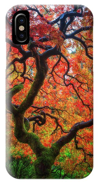 Ethereal Tree Alive IPhone Case