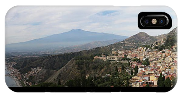 Etna E Taormina IPhone Case