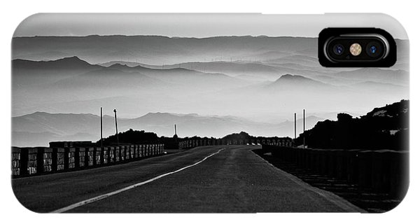 Etna Road IPhone Case