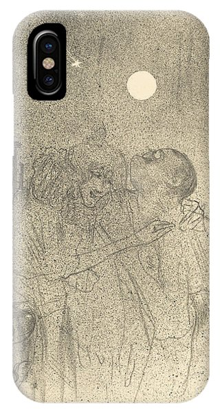 iPhone Case - Etoiles Filantes by Henri De Toulouse-lautrec