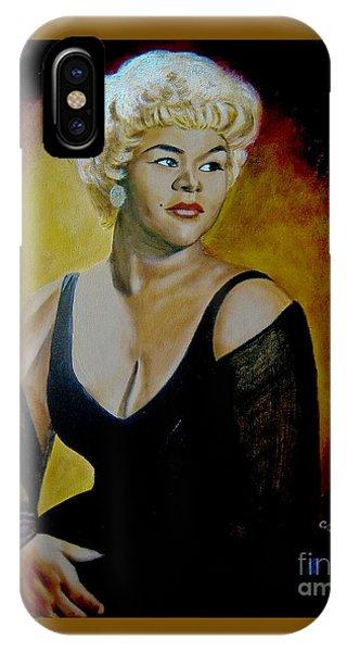 Etta James IPhone Case