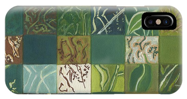 Far North Queensland iPhone Case - Euca Abstract I by Kerryn Madsen-Pietsch