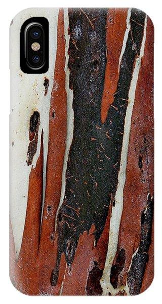 Eucalyptus Bark Abstract 2 IPhone Case