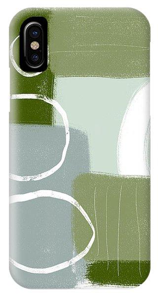 Eucalyptus Breeze 1- Art By Linda Woods IPhone Case