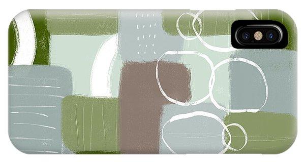 Eucalyptus Breeze 3- Art By Linda Woods IPhone Case