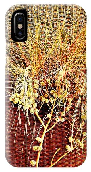 Eucalyptus Red IPhone Case