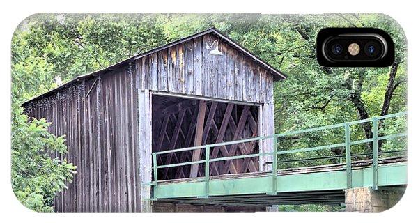 Euharlee Creek Covered Bridge IPhone Case