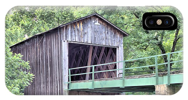 Euharlee Creek Covered Bridge IPhone Case