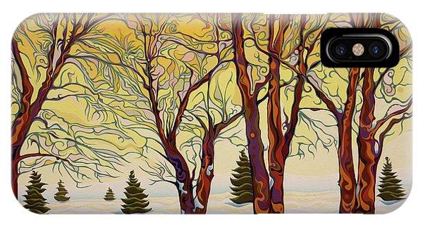 Euphoric Treequility IPhone Case