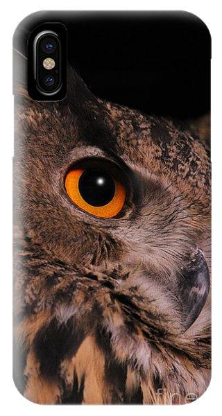 Eurasian Eagle-owl IPhone Case