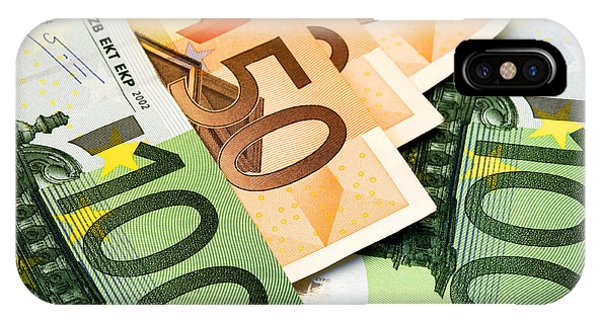 Euro Banknotes IPhone Case