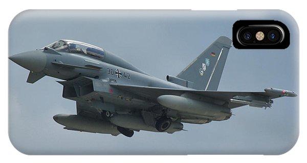 Eurofighter Ef2000 IPhone Case