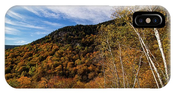 Evans Notch In Maine IPhone Case