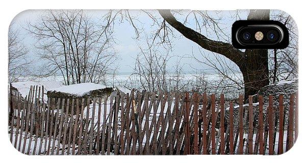 Evanston Winter IPhone Case
