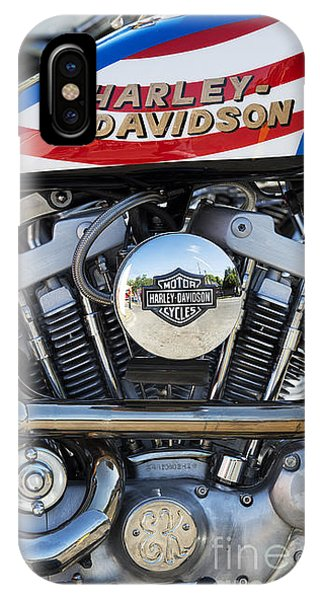 Evel Harley Davidson IPhone Case