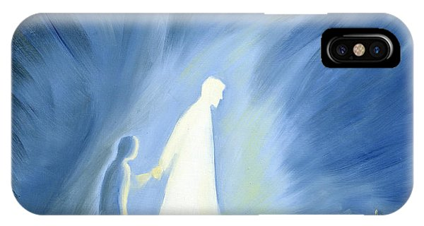 Life Of Christ iPhone Case - Even In The Darkness Of Out Sufferings Jesus Is Close To Us by Elizabeth Wang