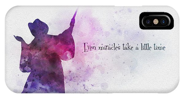Fairy iPhone Case - Even Miracles Take A Little Time by My Inspiration