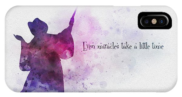 Even Miracles Take A Little Time IPhone Case