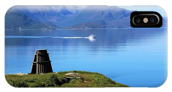 Evenes, Fjord In The North Of Norway IPhone Case