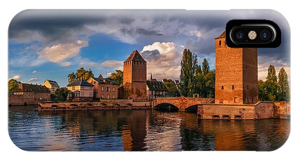 Evening After The Rain On The Ponts Couverts IPhone Case