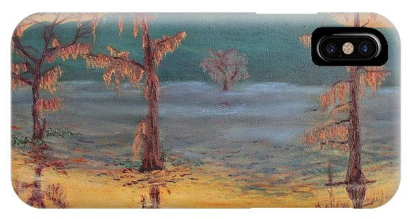 Evening On Caddo Lake IPhone Case