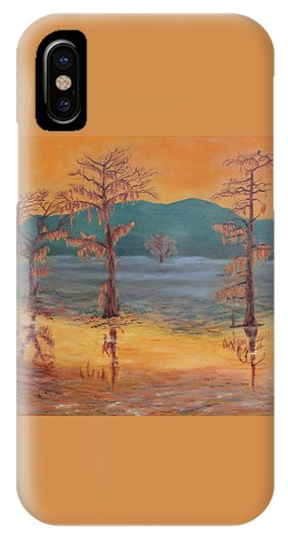 Evening On Caddo Lake IPhone Case