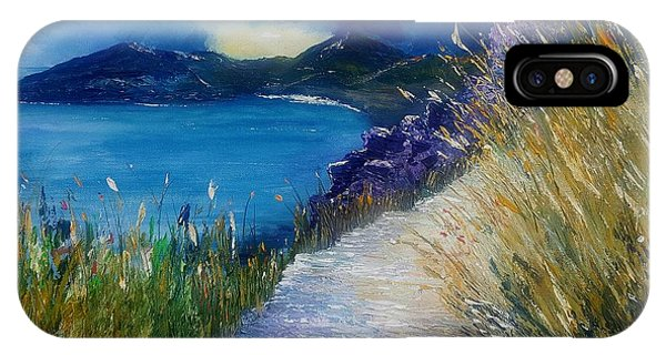 Evening At Keem Bay Co Mayo IPhone Case