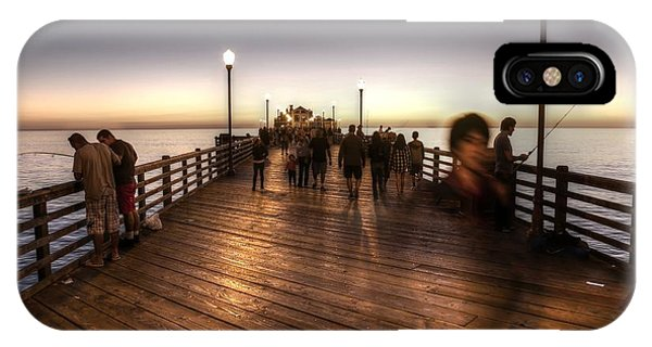 Evening At Oceanside Pier IPhone Case