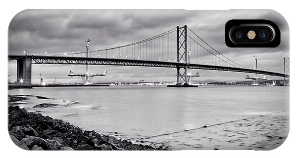 Evening At The Forth Road Bridges IPhone Case