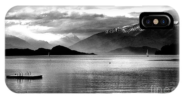 Evening At Wanaka IPhone Case