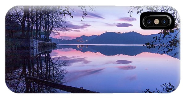 Evening By The Lake IPhone Case