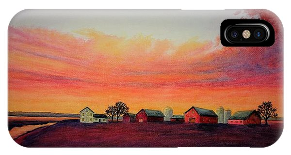 Evening Colors IPhone Case