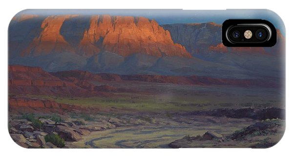 Canyon iPhone Case - Evening Comes To Marble Canyon by Cody DeLong