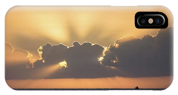 Evening Fishing IPhone Case