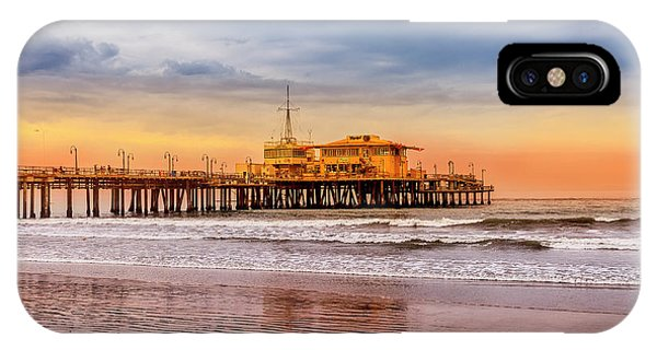 Evening Glow At The Pier IPhone Case