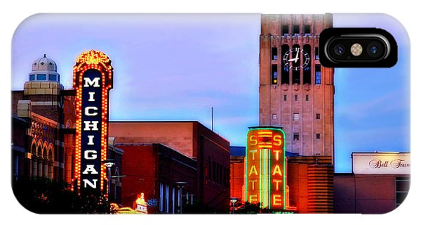 Evening In Ann Arbor IPhone Case