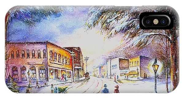 Evening In Dunnville IPhone Case