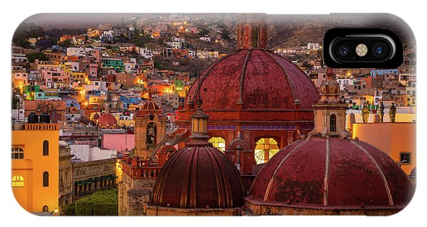 Guanajuato iPhone Case - Evening In Guanajuato by Inge Johnsson