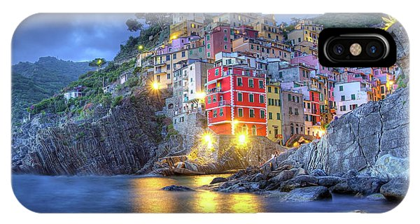 Evening In Riomaggiore IPhone Case