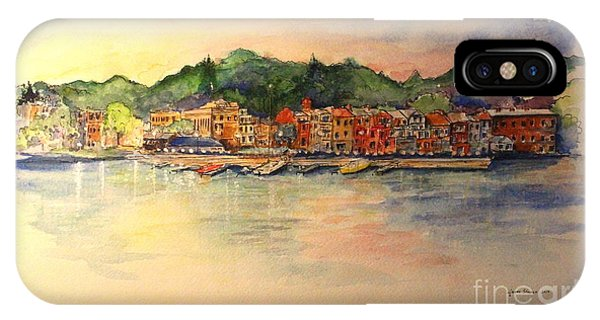Evening In Skaneateles IPhone Case