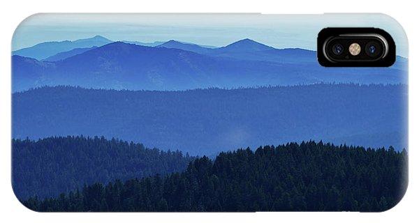 Oregon Blues  IPhone Case