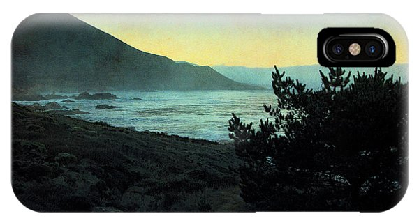 Evening On The California Coast IPhone Case