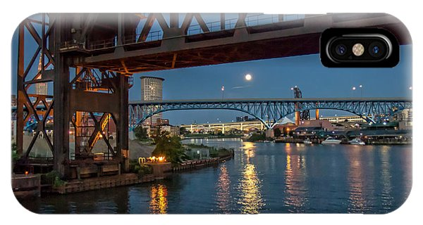 Evening On The Cuyahoga River IPhone Case
