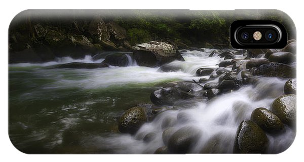 Evening On The Sarapiqui River IPhone Case